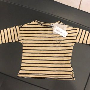 Tocoto Long Sleeve Stripped Shirt